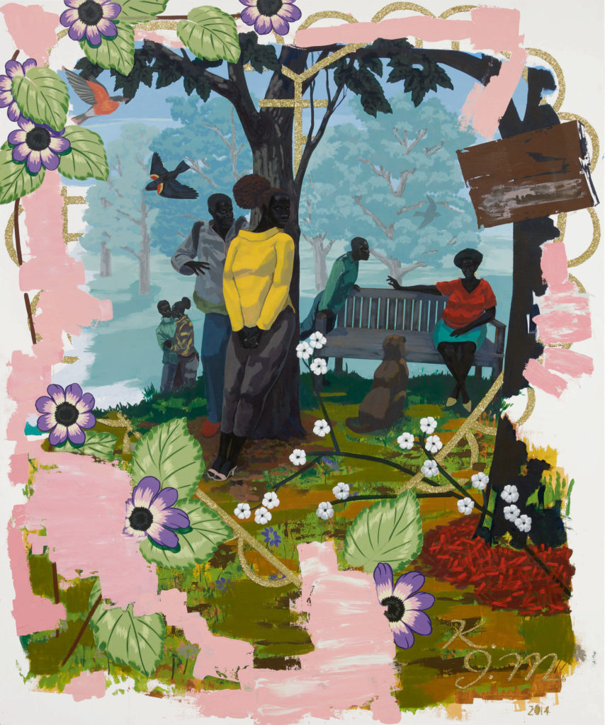 Kerry James Marshall, Vignette 19, 2014, private collection