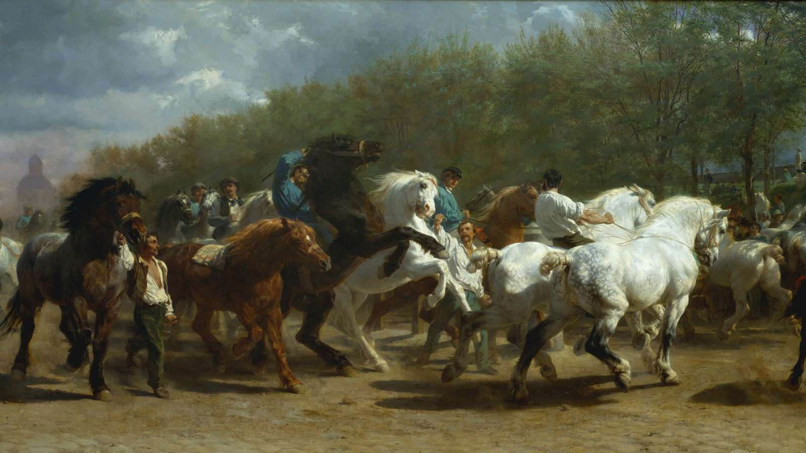 Rosa Bonheur, The Horse Fair cover