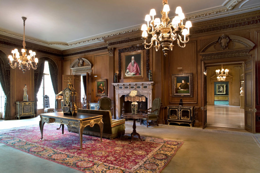 Frick Collection Living Hall