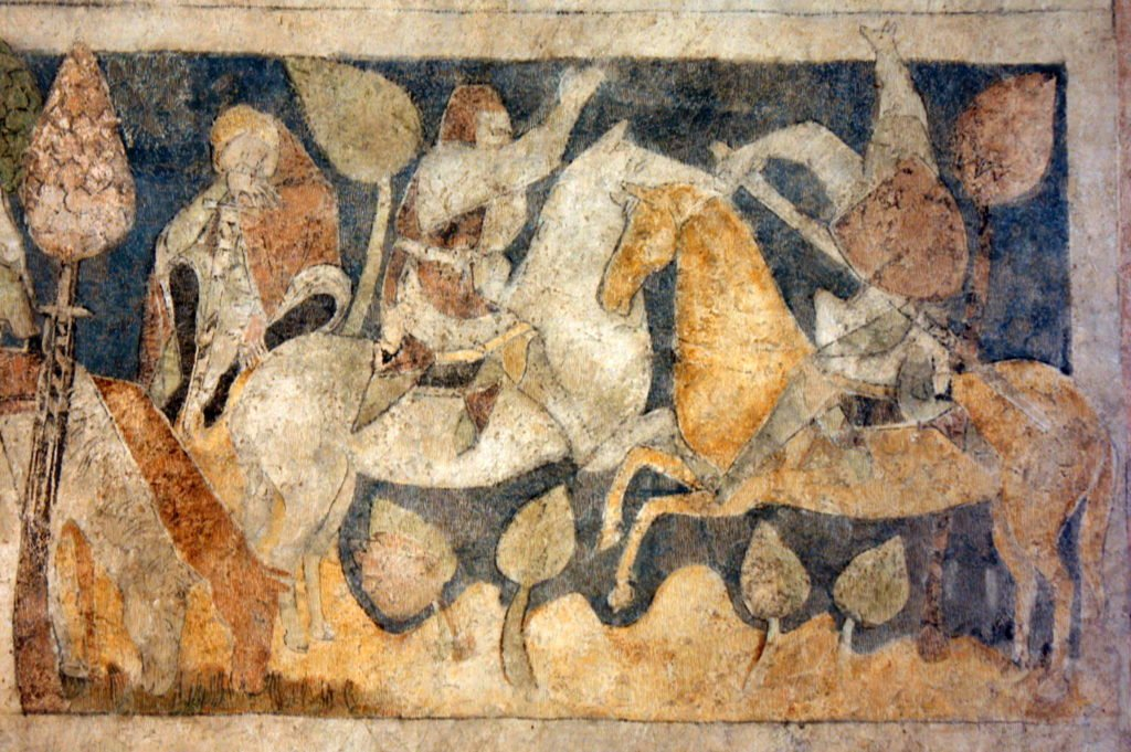 Arthurian Wall Paintings