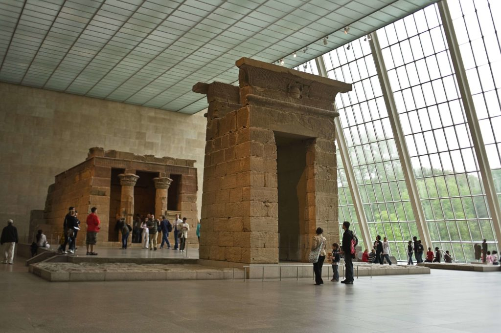 The Met Fifth Avenue_The Temple of Dendur_photo courtesy of The Met