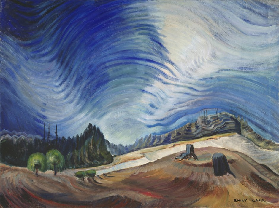 Emily Carr, Above the Gravel Pit