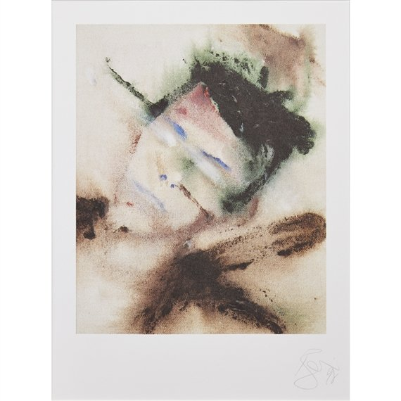 David Bowie Paintings. David, Bowie, The Head – Outside, 1995, private collection