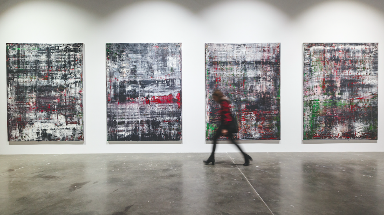 Gerhard Richter, Birkenau, 2014 - 15 Must-See Art Exhibitions in 2020