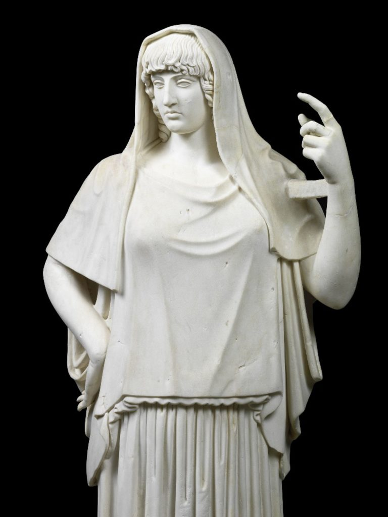 Hestia Giustiniani, ca 470 BCE, ©Torlonia Collection - 15 Must-See Art Exhibitions in 2020