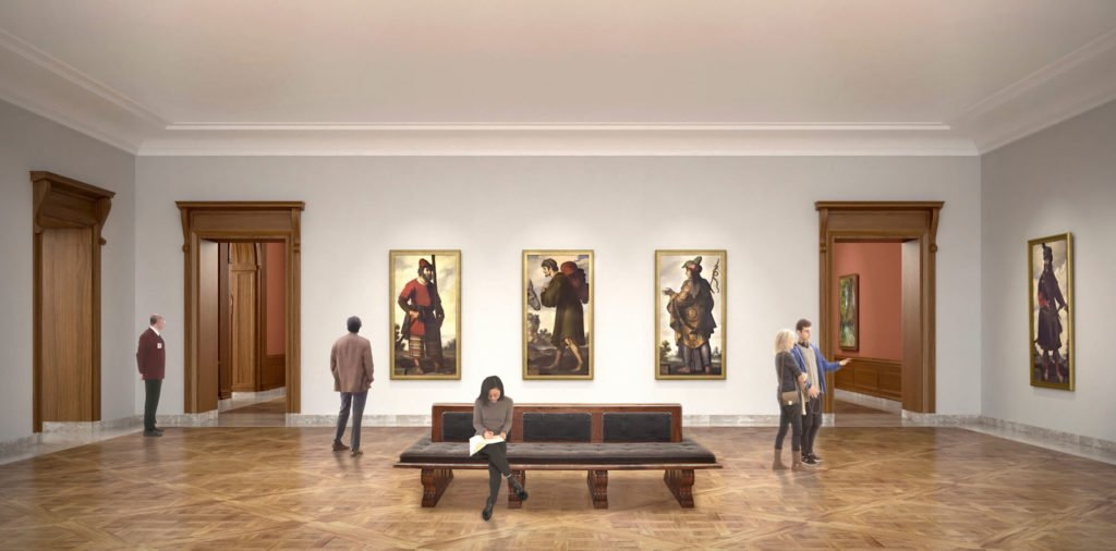 Frick Collection renovation special exhibition gallery