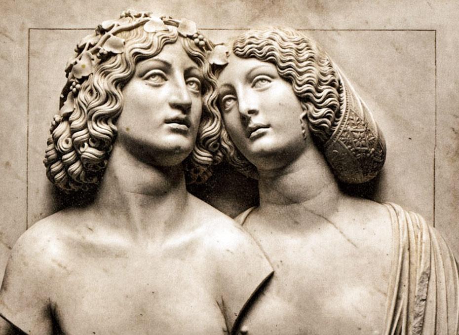 Tullio Lombardo, Young Couple (Bachus and Ariadne), ©Kunsthistorisches Museum Vienna