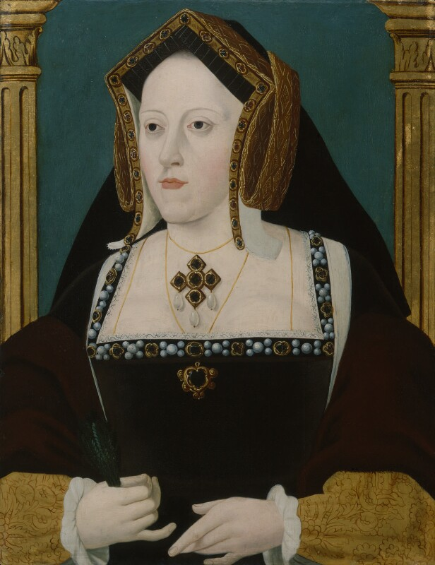Unknown artist, Katherine of Aragon, early 18th century, © National Portrait Gallery, London