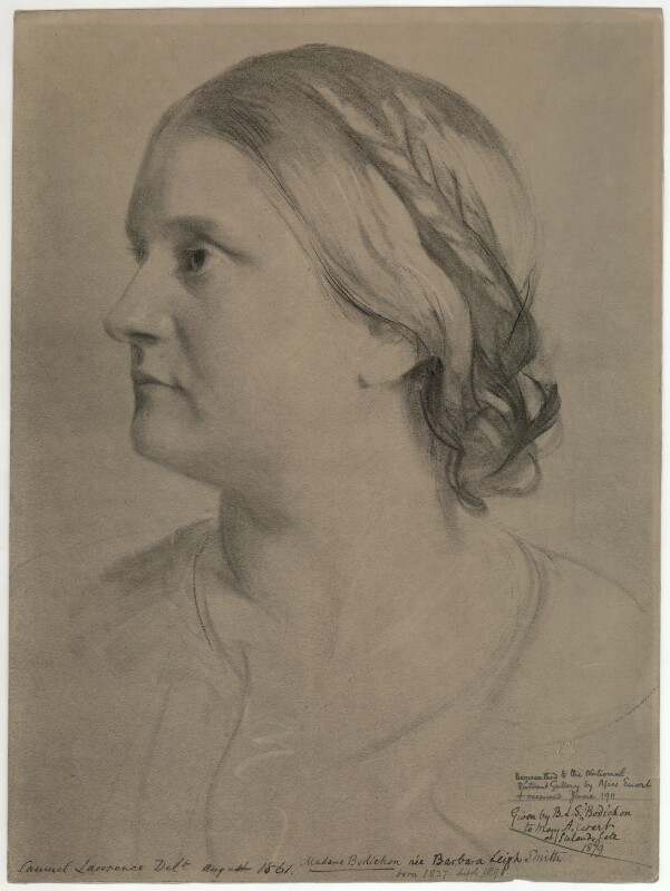 after Samuel Laurence, Barbara Leigh Smith Bodichon, 1861, © National Portrait Gallery, London - Aroudn the World with the National Portrait Gallery - P.3 Africa
