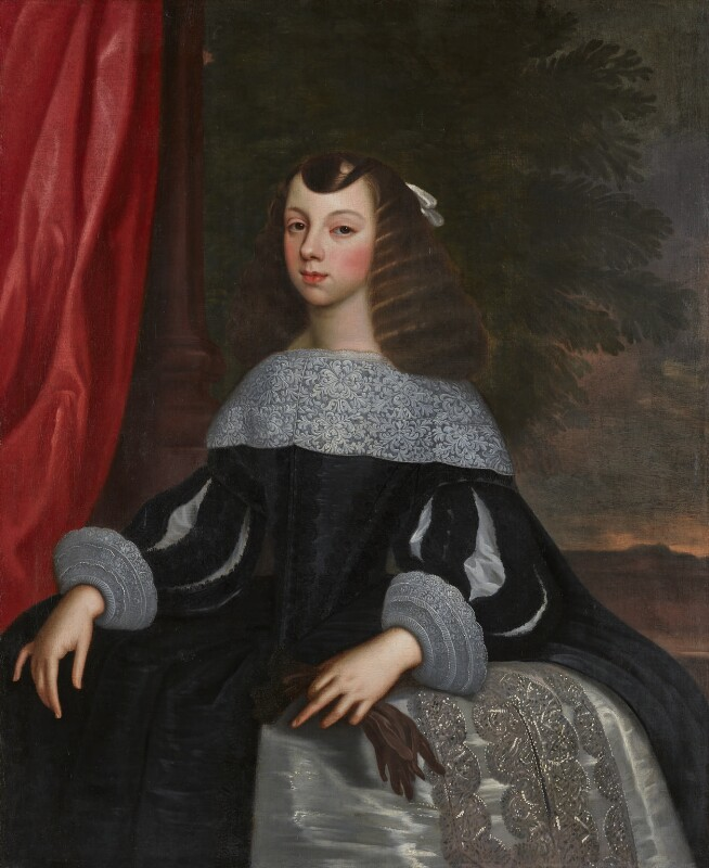 by or after Dirck Stoop, Catherine of Braganza, ca 1660-1661, © National Portrait Gallery, London