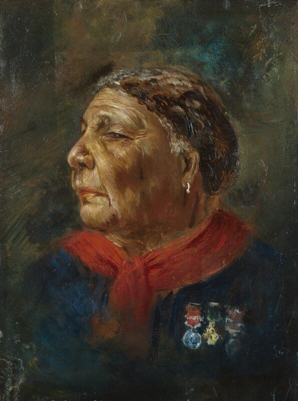 Albert Charles Challen, Mary Seacole, 1869, © National Portrait Gallery, London