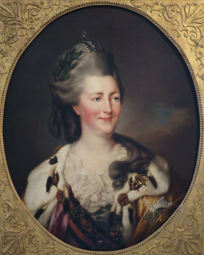 Female Art Patrons: Catherine the Great by Richard Brompton