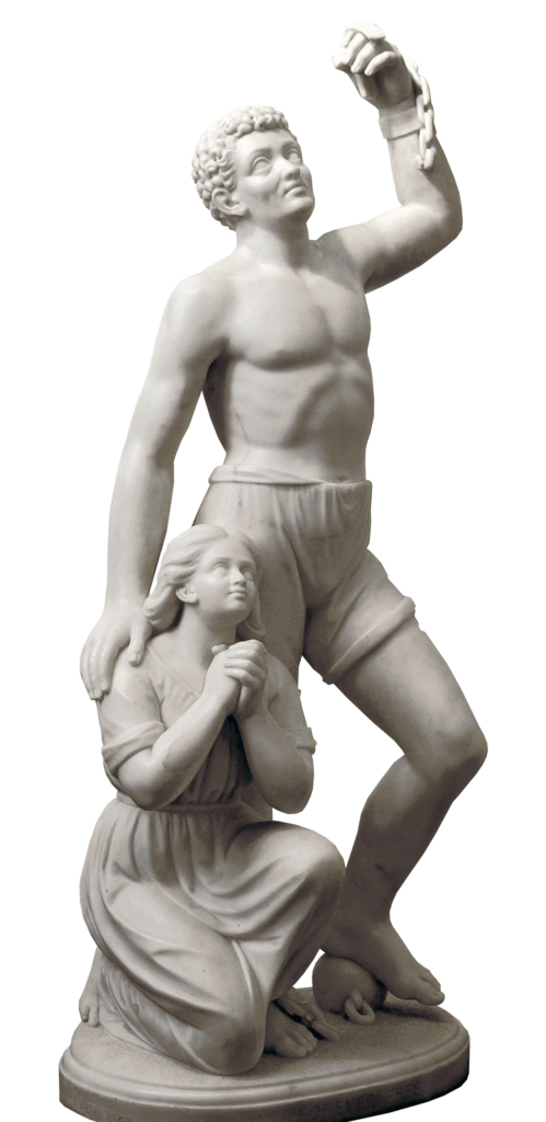 Forever Free by Edmonia Lewis