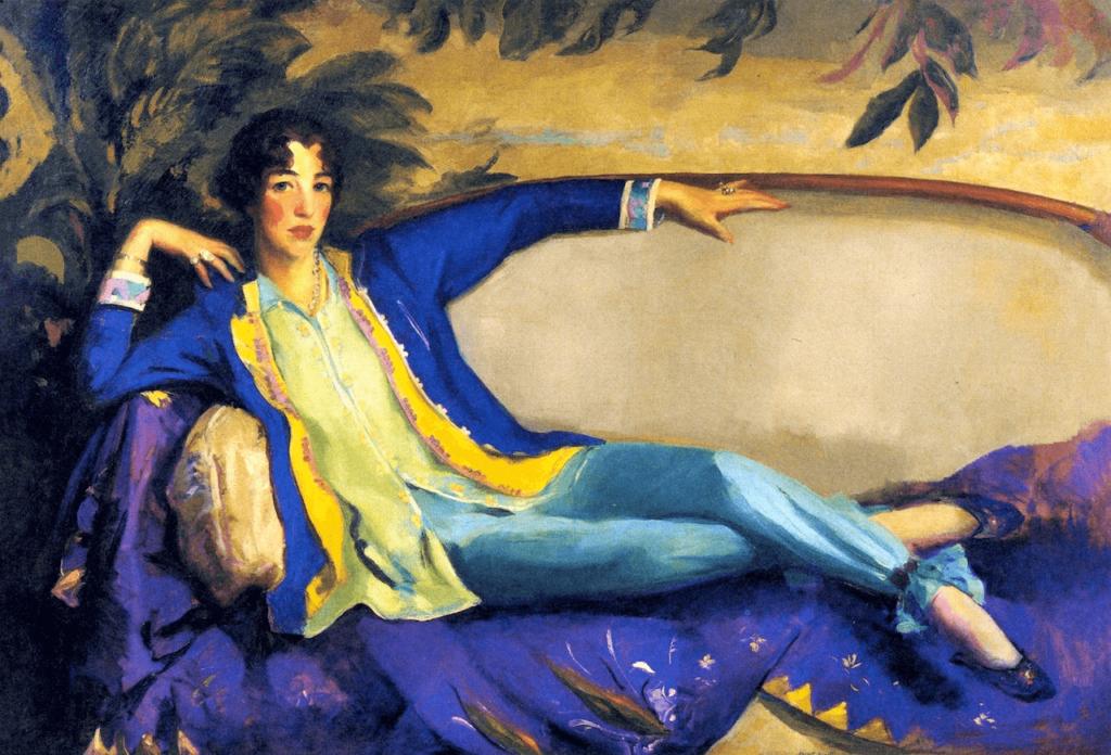 Female Art Patrons: Gertrude Vanderbilt Whitney by Robert Henri