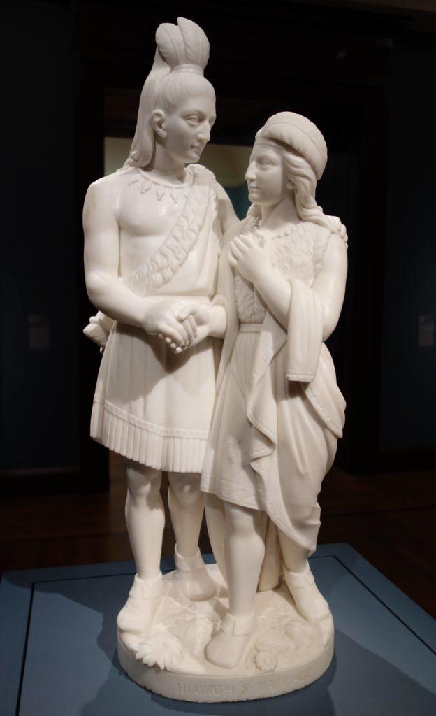 Hiawatha's Marriage by Edmonia Lewis