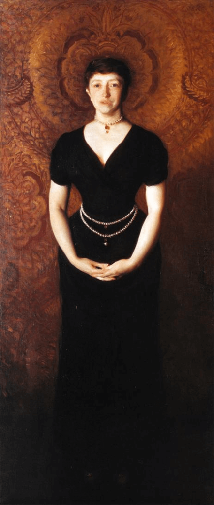 Female Art Patrons: Isabella Stewart Gardner by John Singer Sargent