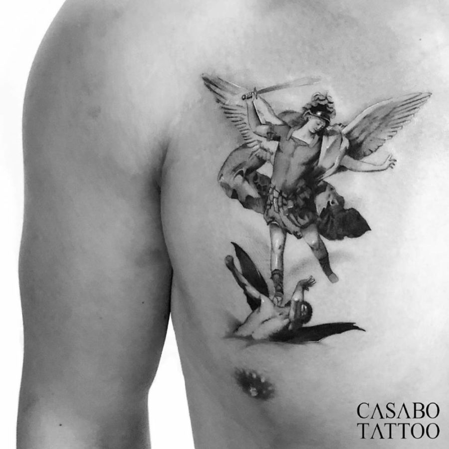 Ivan Casabo, The Fall of the Rebel Angels by Luca Giordano, @ivancasabo