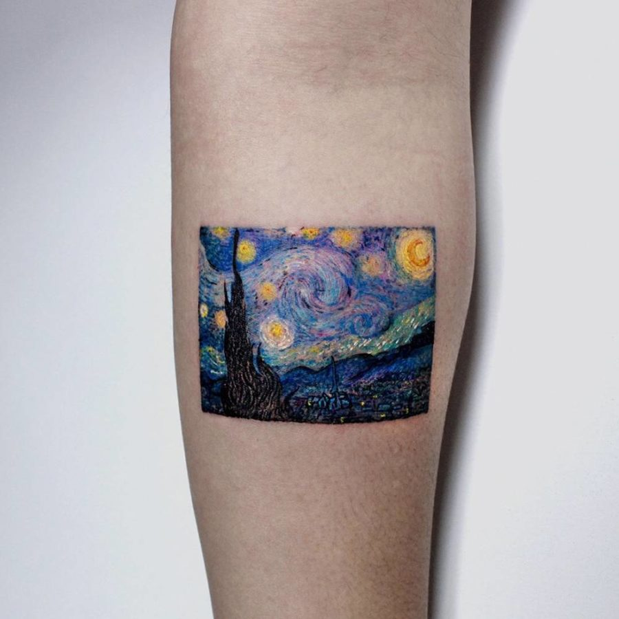 J. Hyeon, Starry Night by Vincent van Gogh
