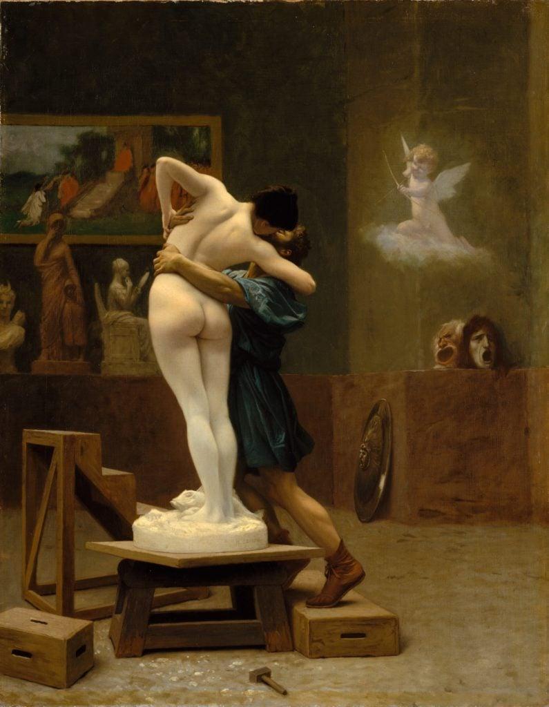 Jean-Léon Gérôme, Pygmalion and Galatea,