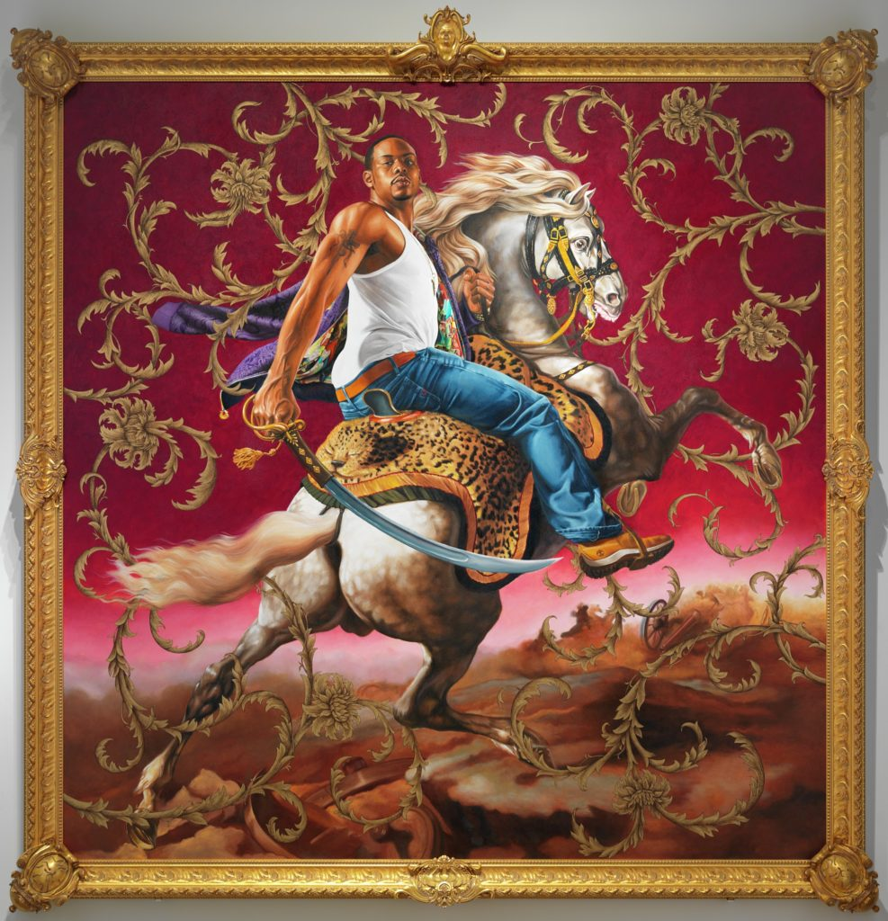 Kehinde Wiley, Officer of the Husars, 2007, Detroit Institute of Arts, Black History Month