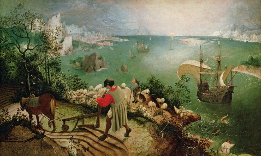 Pieter Bruegel the Elder, Landscape with the Fall of Icarus