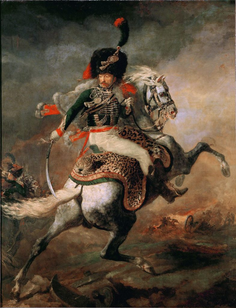 Théodore Géricault, The Charging Chasseur, 1812, the Louvre