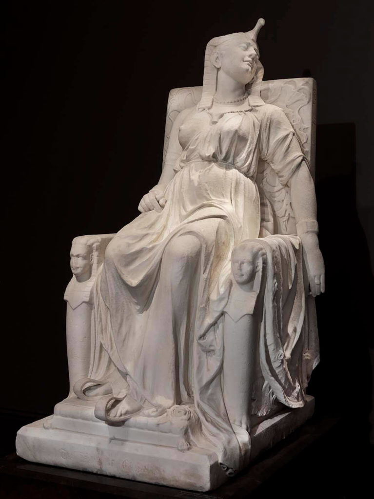 The Death of Cleopatra by Edmonia Lewis