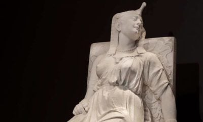 The Death of Cleopatra by Edmonia Lewis cover