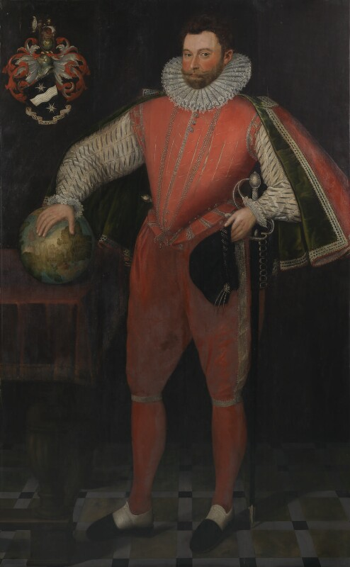 Unknown artist, Sir Francis Drake, ca 1581, © National Portrait Gallery, London