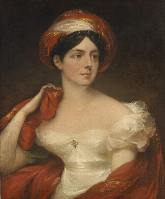 William Armfield Hobday, Mary English (née Ballard, later Greenup), 1818, © National Portrait Gallery, London