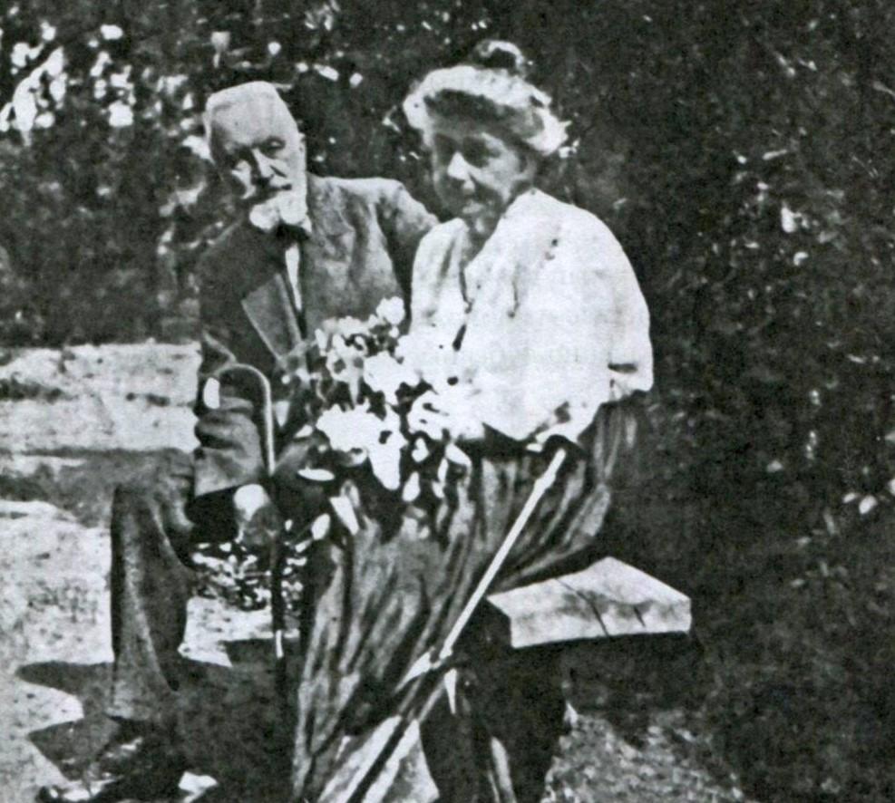 Petr and Zinaida Pertsov