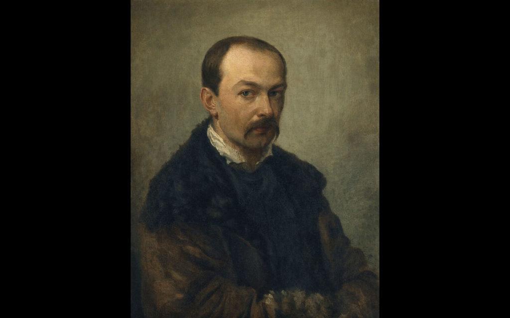 Pavel Fedotov, Self-Portrait, 1848, State Tretyakov Gallery, Moscow.