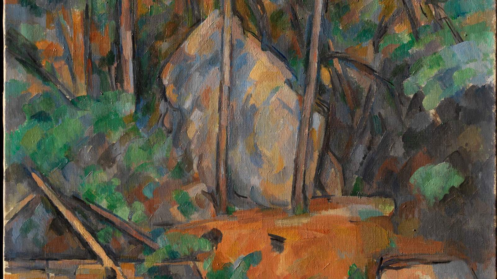 Cézanne: The Rock and Quarry Paintings cover