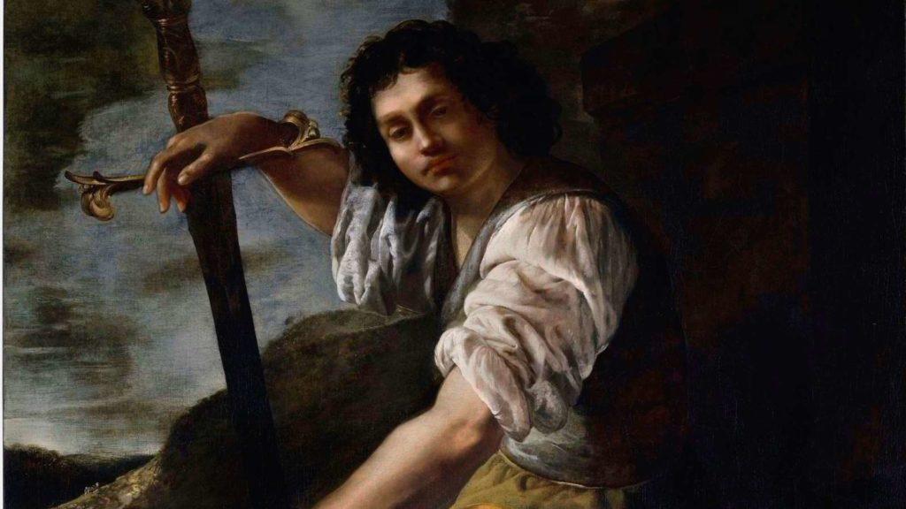 Artemisia Gentileschi David and Goliath - Simon Gillespie Studio cover