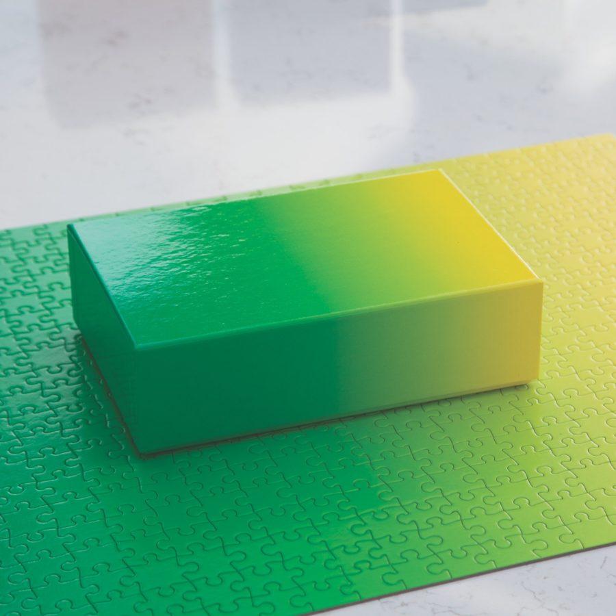 Gradient Puzzle, Institute of Contemporary Art, Boston