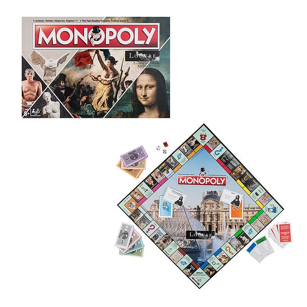 Monopoly Louvre, Louvre, Paris