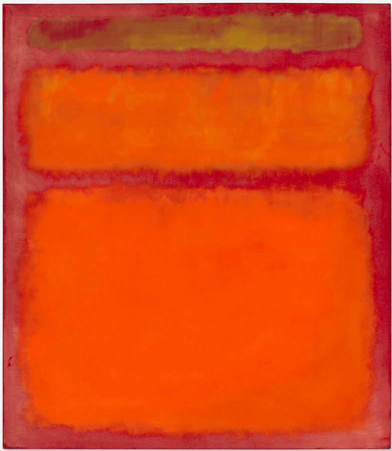 art relax Mark Rothko, Orange, Red, Yellow, 1961, private collection. Masterpieces to Calm Your Anxiety