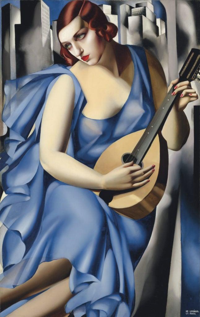 La Musicienne, 1929, private collection