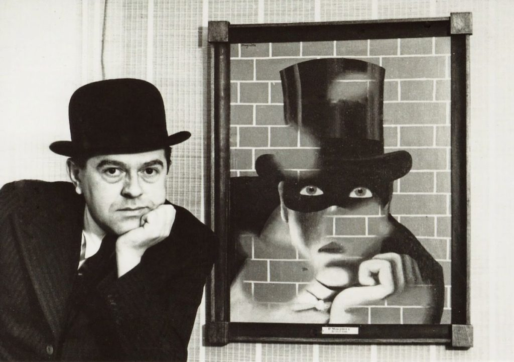 René Magritte Love René Magritte Lovers René Magritte and Le Barbare, 1938. Private Collection. (Photo by Fine Art Images/Heritage Images/Getty Images)