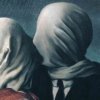 René Magritte, The Lovers II, 1928, Museum of Modern Art, New York Rene magritte Lovers rene magritte Love