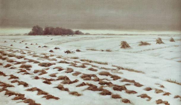 Nasta Rojc, Winter, 1912