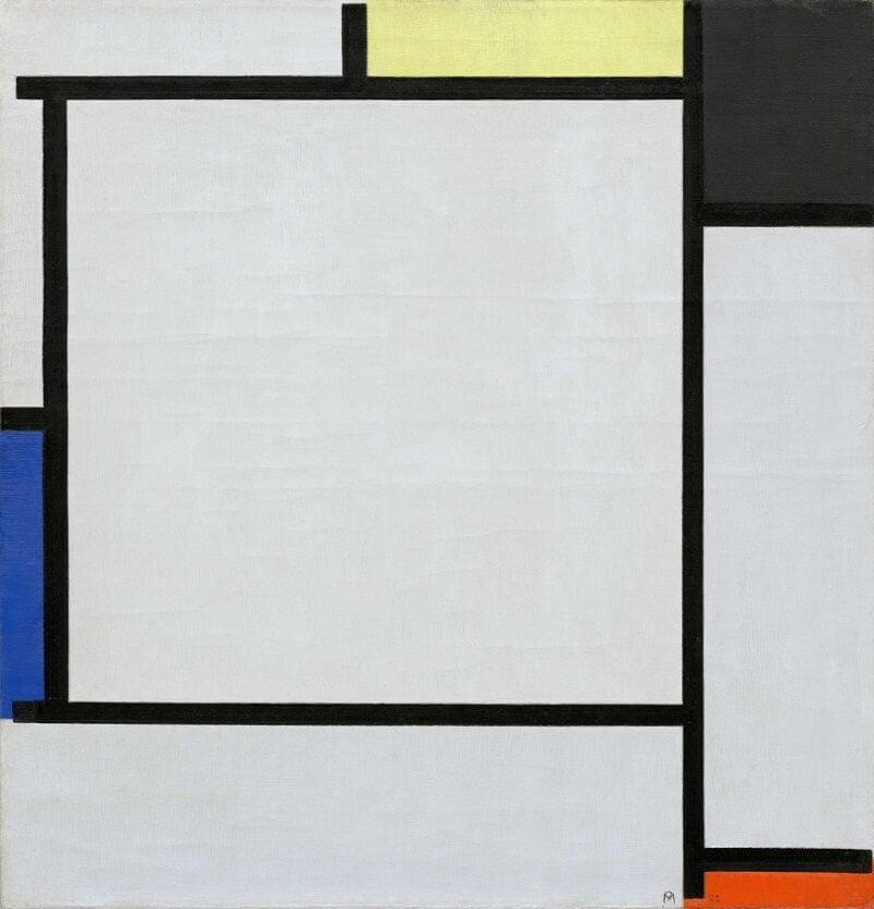 Tableau II by Piet Mondrian