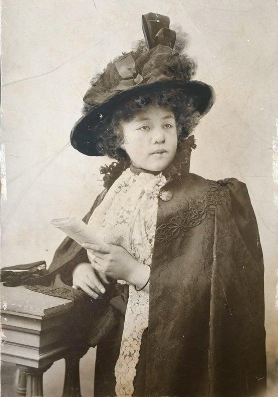 Portrait of Kiyohara Tama, 1883.