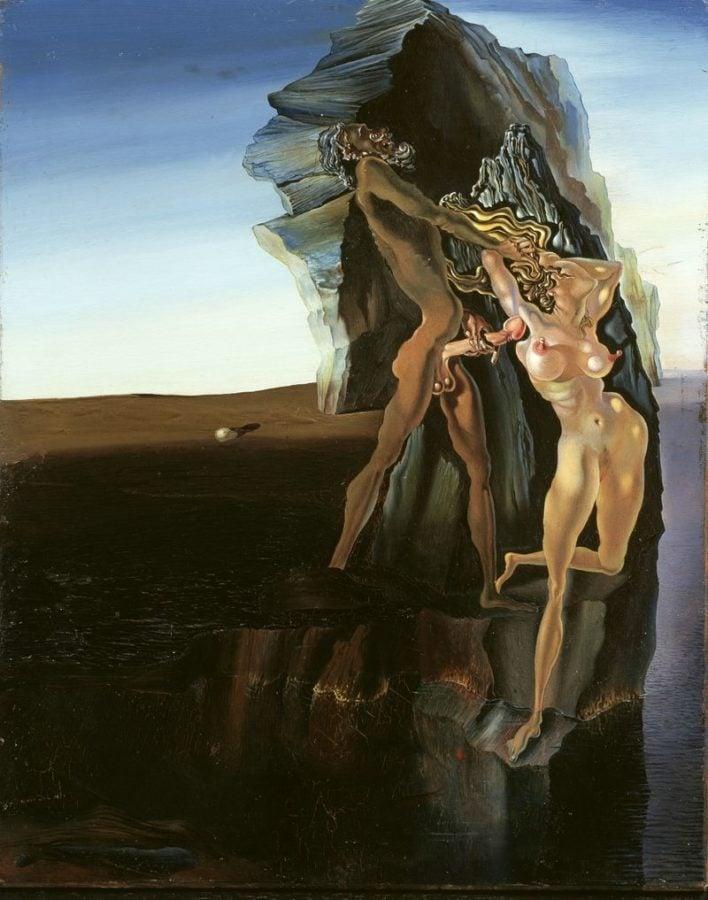 Salvador Dalì, William Tell and Gradiva, Fundació Gala-Salvador Dalí, Figueres, Spain.