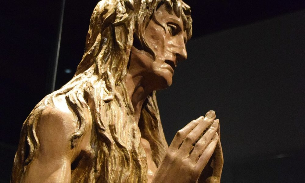 Donatello, Penitent Mary Magdalene, c. 1455, Museo dell'Opera del Duomo, Florence, Italy. Photo by George M. Groutas, Wikimedia Commons.