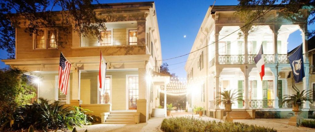 Photo of today's Degas House in New Orleans.