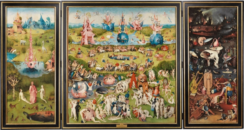 One of the most famous gardens in art, Bosch's Garden of Earthly Delights is a masterpiece held in the Museo del Prado.