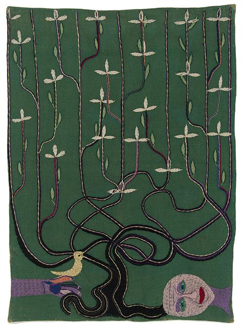 Violeta Parra, The tree of Life (Árbol de la vida), 1960, Colección Museo Violeta Parra, Santiago, Chile.