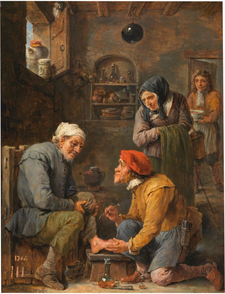 David Teniers the Younger, A Surgical Operation, 1631 - 1640.