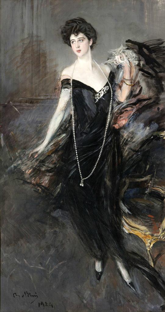 Giovanni Boldini, Portrait of Franca Florio,